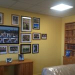 Academic collage wall