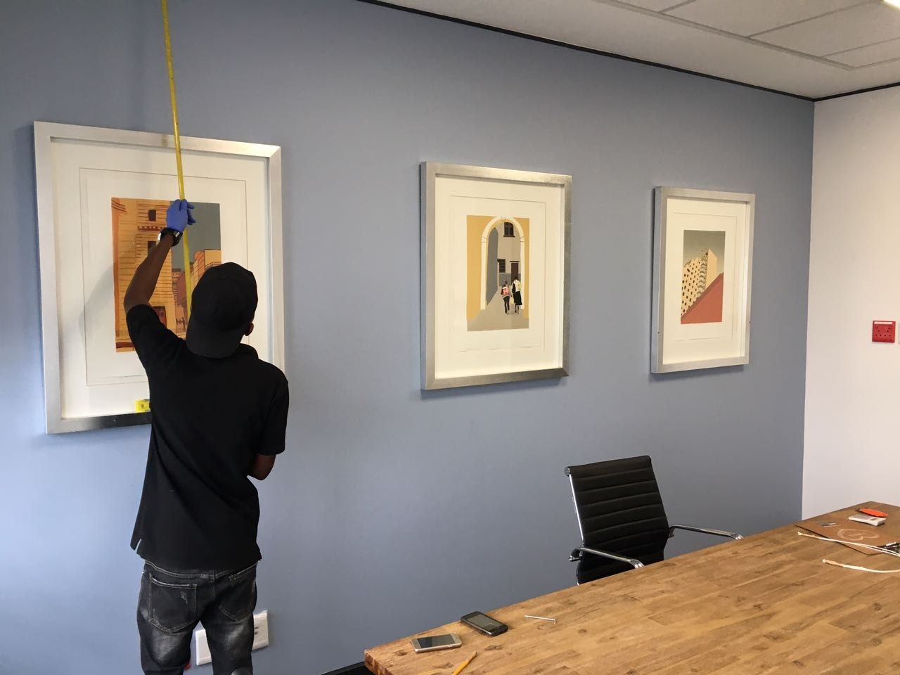 Picture Hanging and Installation