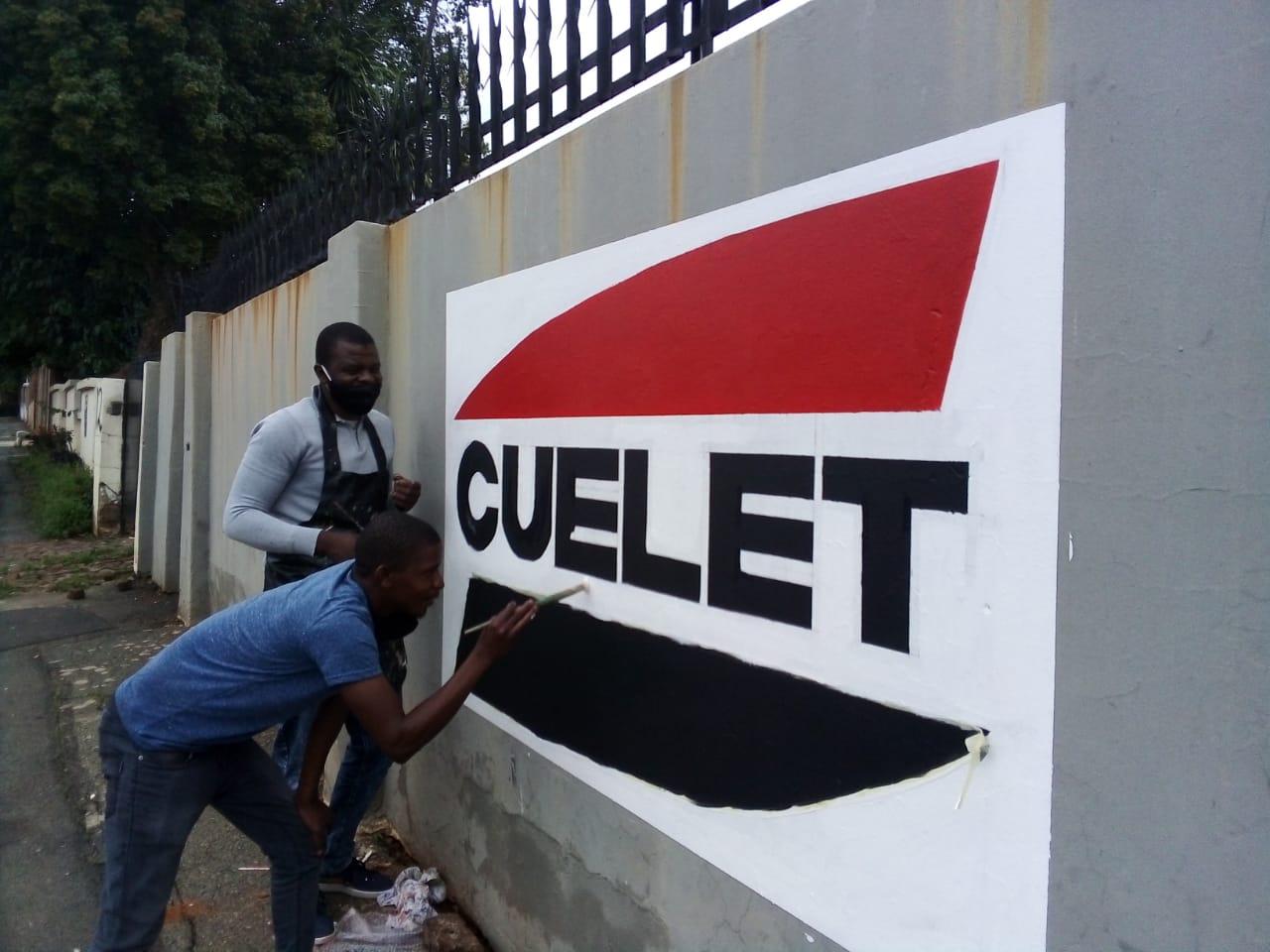 Wall Mural Gauteng
