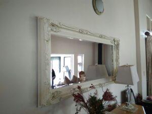 Large Mirror Hanging