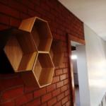 Hexagonal Shelf Installation